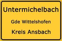 Ortsteil Untermichelbach