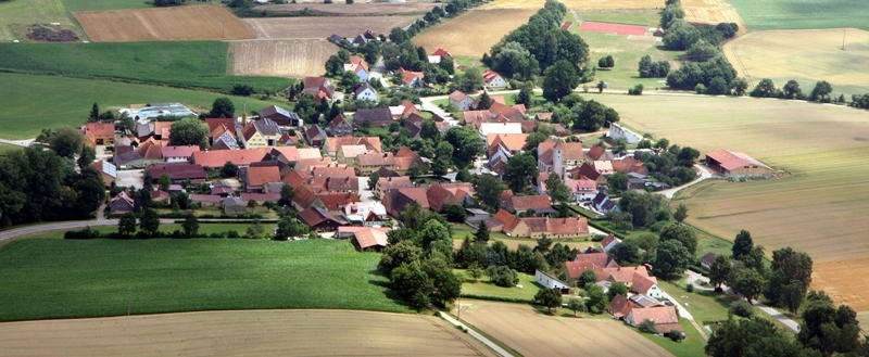 Luftaufnahme Untermichelbach
