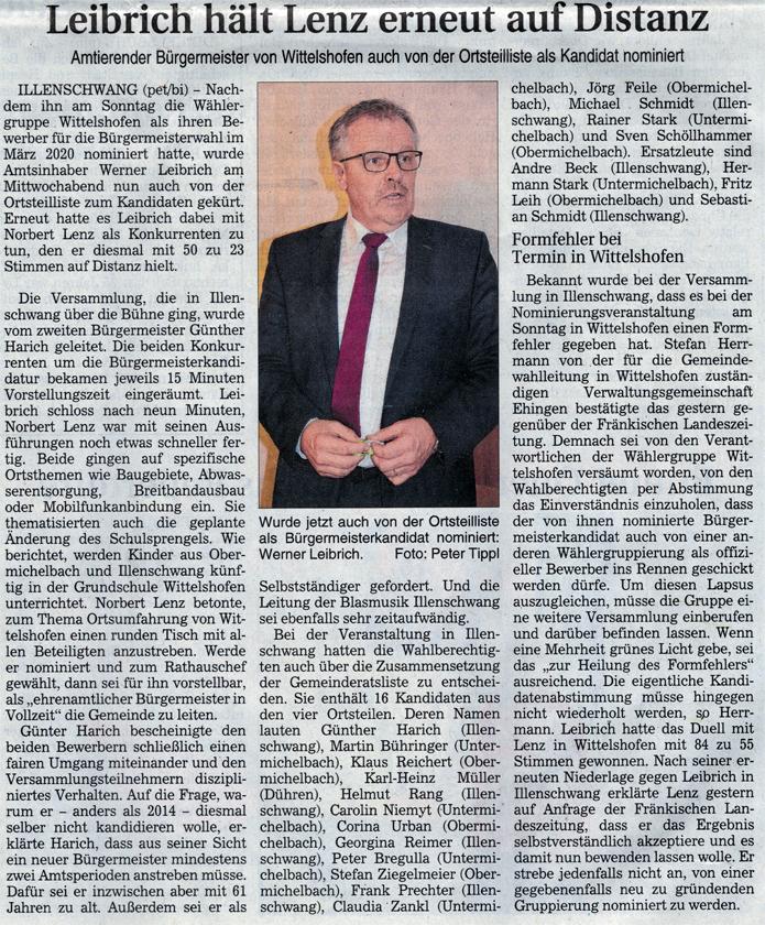 BGM-Wählergruppe Ortsteilliste Wittelshofen
