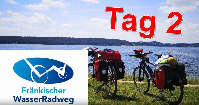 """Radreise """"Fränkischer WasserRadweg"""" auf YouTube – Tag 2"""